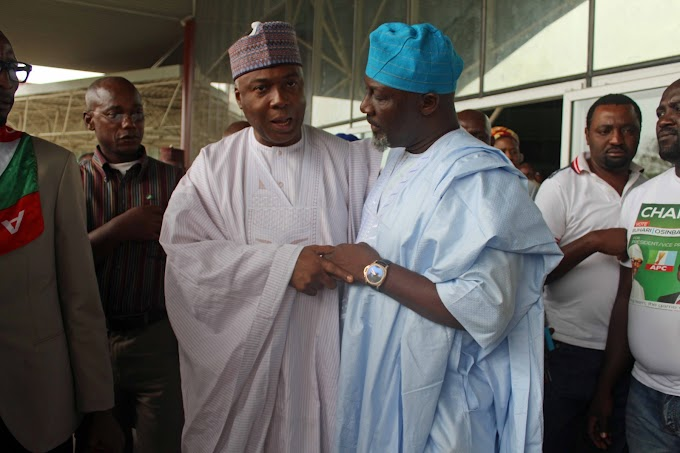Nigerians react as Saraki dumps APC [See comments]