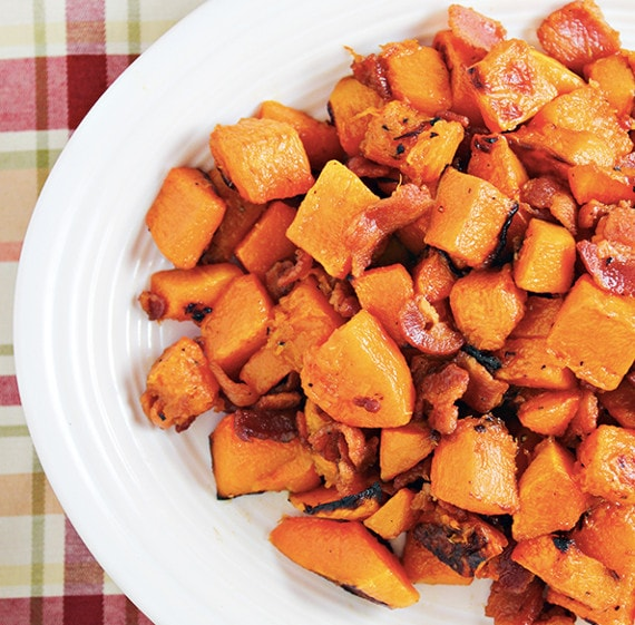 Maple Glazed Butternut Squash from Home Cooking Memories