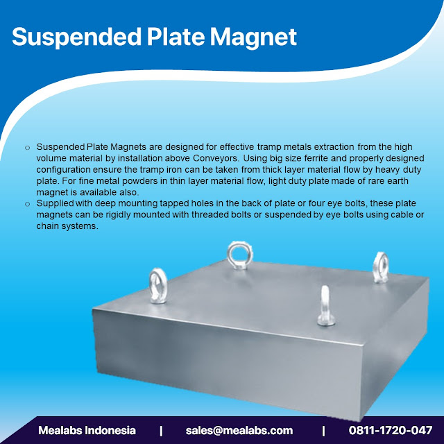 suspended magnet plate