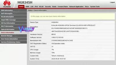 Cara Login Admin Indihome Pada Modem Huawei 2
