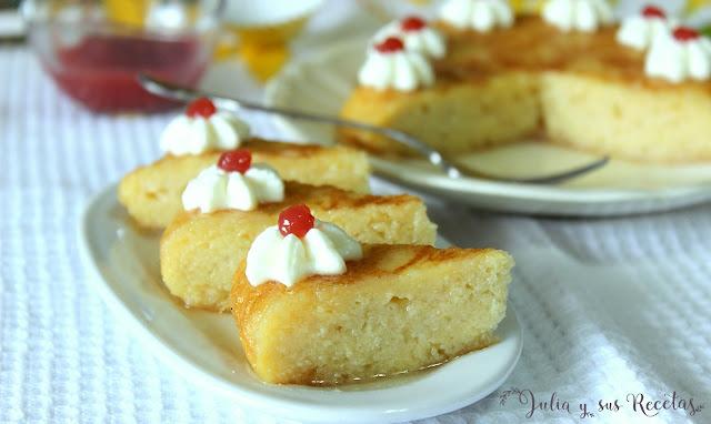 Tortilla de pan dulce. Julia y sus recetas