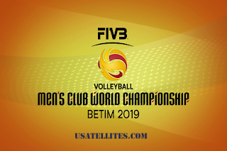 FIVB Volleyball Men's Club World Championship Eutelsat 7A/7B Biss Key 5 December 2019