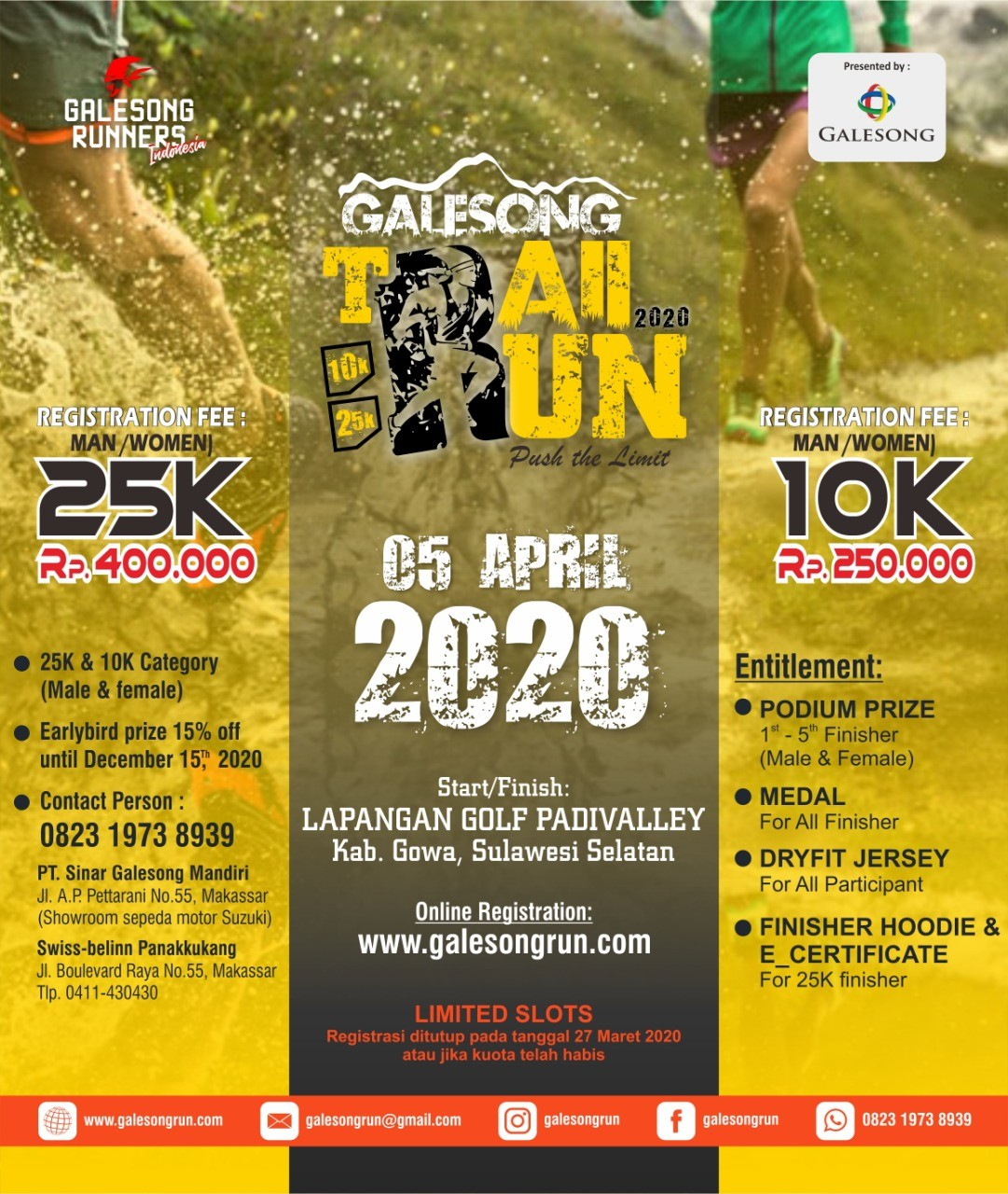Galesong Trail Run • 2020