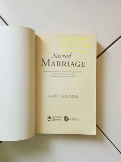 Sacred Marriage Penulis Gary Thomas