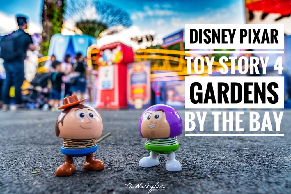 Disney Pixar Toy Story 4 Gardens By The Bay Highlight