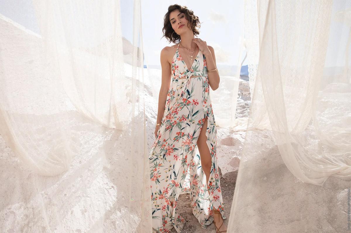 Moda primavera verano 2020: vestidos de verano largos verano 2020.