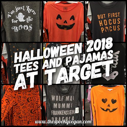 Halloween 2018 Tees And Pajamas At Target