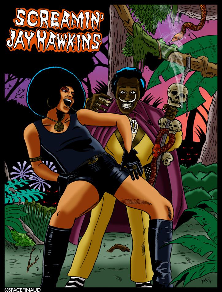 """On continue le thème """"Horror Rock"""" avec cette fois-ci le précurseur de la musique théâtrale. Screamin' jay Hawkins était connu pour son tube """"I Put A Spell On You"""". repris par bon nombres d'artistes comme les """"Creedence Clearwater Revival"""", Nina Simone, The Animals... et Alan Price Set, d'où j'ai une préférence pour cette version."""