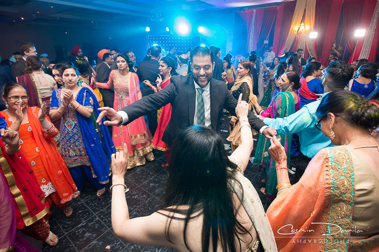 But Most Of Them Are Having The Time Their Lives On Dance Floor Punjabi Wedding