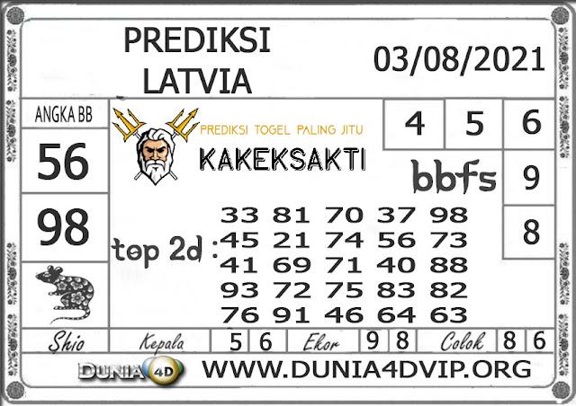 Prediksi Togel LATVIA DUNIA4D 03 AGUSTUS 2021
