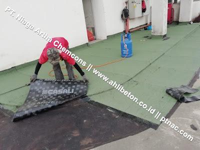 Spesialis Waterproofing Membrane Bakar untuk Atap