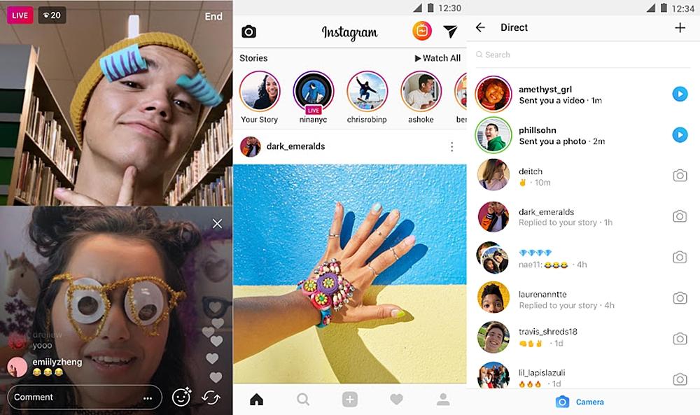 تحميل برنامج مشاركة الصور والفيديوهات الخاصة انستجرام Instagram للاندرويد