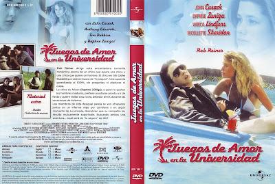 Cover, caratula, dvd: Juegos de amor en la universidad | 1985 | The Sure Thing