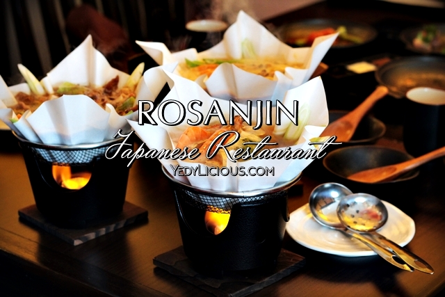 Rosanjin Japanese Restaurant at Mega Fashion Hall in SM Megamall, Tobanyaki and Kaminabe Dishes