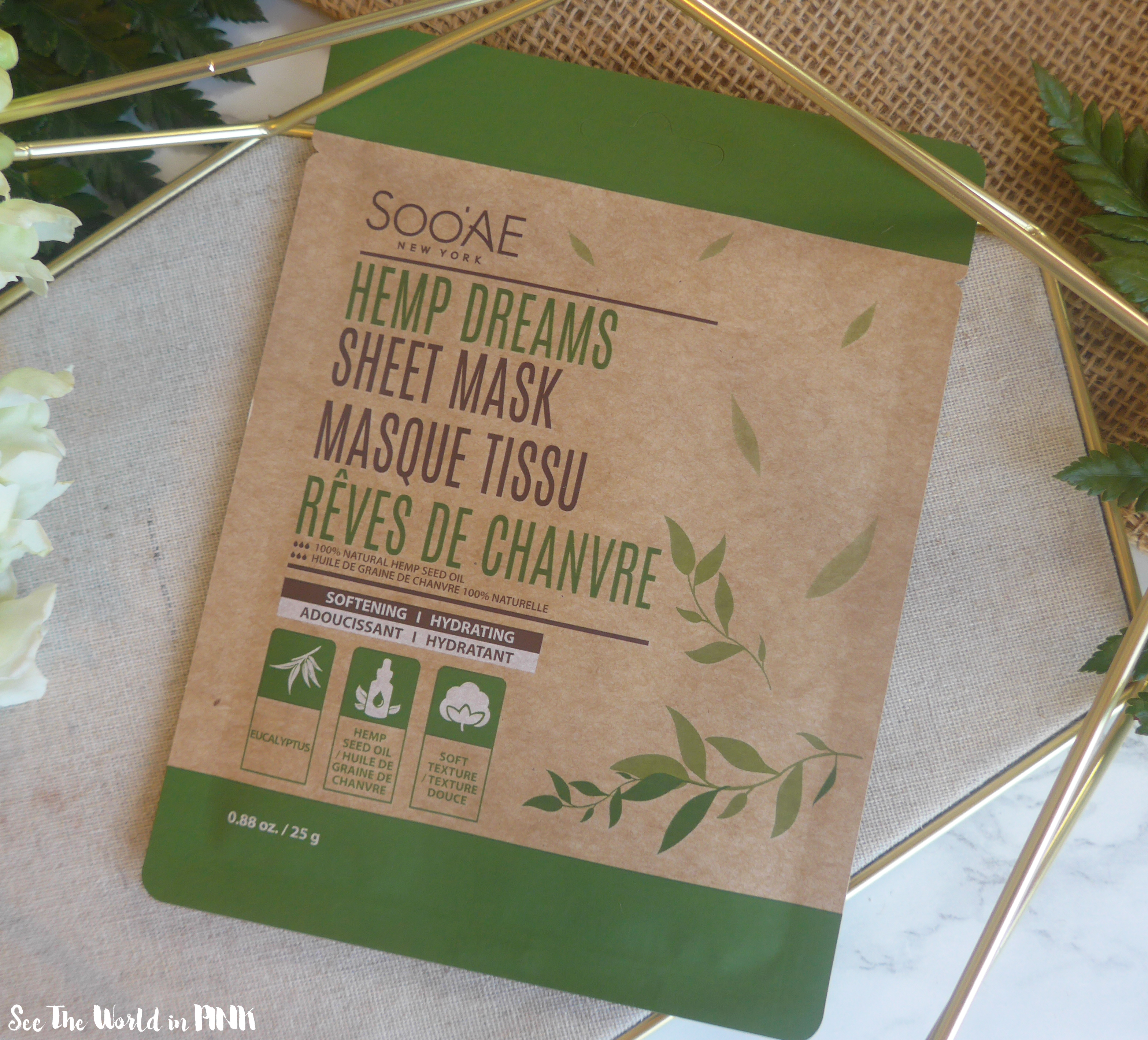 SooAE Hemp Dreams Sheet Mask & Mud Mask
