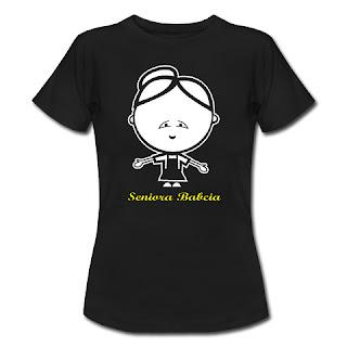 Koszulka Seniora Babcia