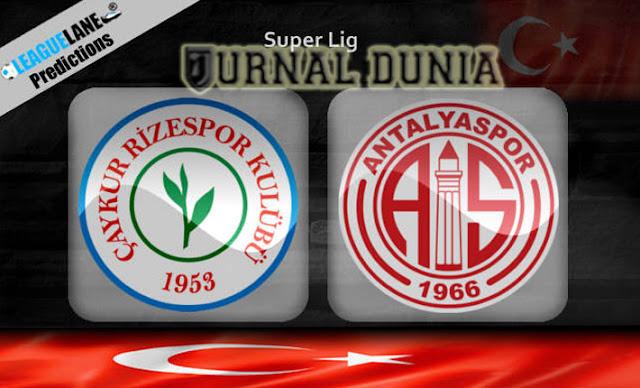 Prediksi Caykur Rizespor vs Antalyaspor , Kamis 24 Desember 2020 Pukul 22.59 WIB