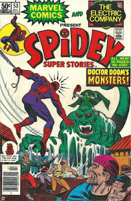 Spidey Super Stories #53, Dr Doom
