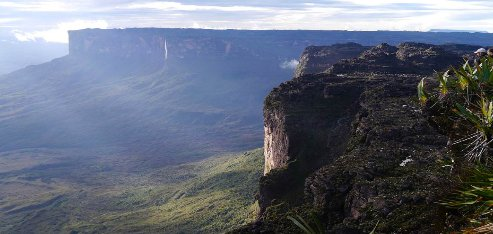Where is Mount Roraima located?