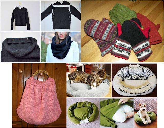 Ideas con lana reciclando jerseys y restos de ovillos - Reciclar restos de lana ...