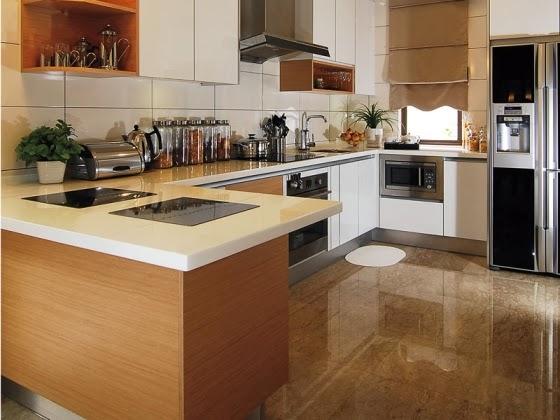 11 Contoh Model Keramik Dapur Minimalis Terbaru Ini Sangat