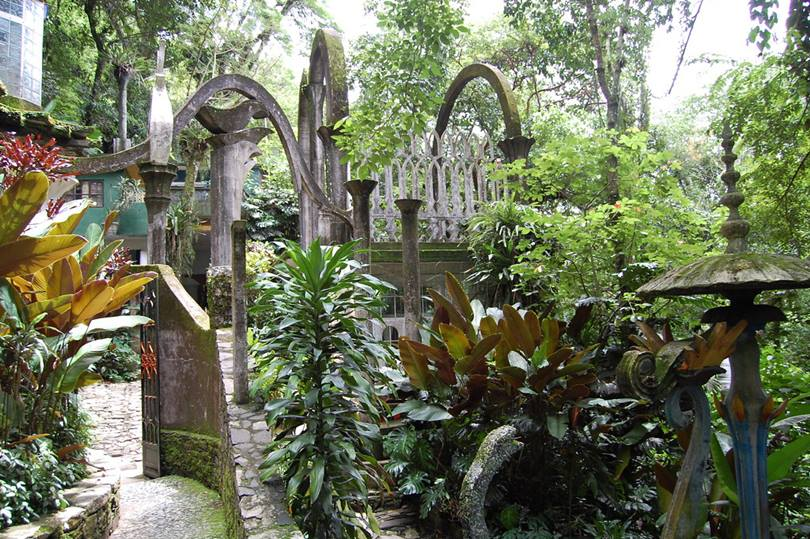 The Las Pozas Gardens in Mexico