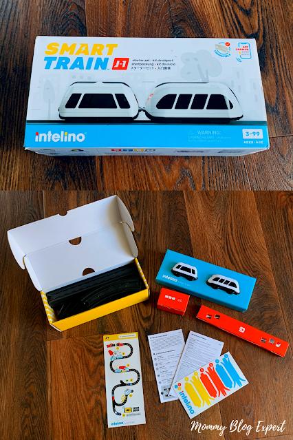 Intelino Smart Train Kids Educational STEM Toy