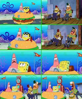Polosan meme spongebob dan patrick 43 - sama saja, double upload, mainan mobil-mobilan