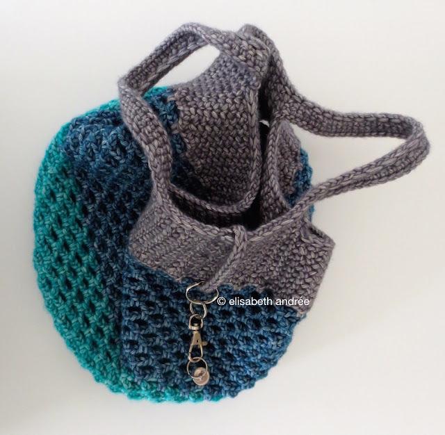 Recopilación de patrones de bolsas de red | Terapia Ganchillera