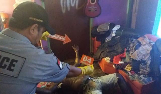 Polres Sarmi Olah TKP Penemuan Mayat di Rumah Dinas Pegawai Telkom
