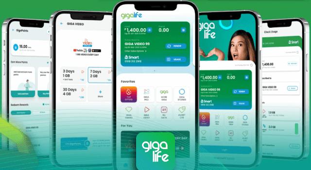 Smart GigaPoints: Redeem Rewards via GigaLife App