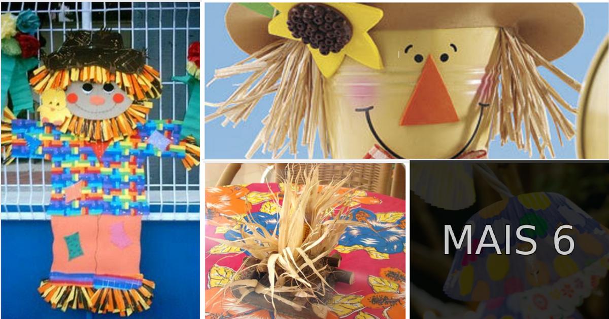 Ideias de decoraç u00e3o para festa junina u2014 SÓ ESCOLA # Decoração De Festa Junina Para Escola