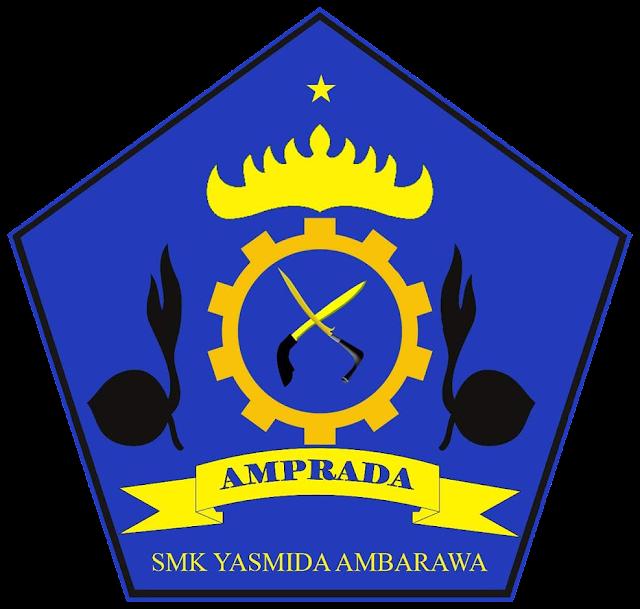 Desain Logo Amprada Pramuka SMK Yasmida Ambarawa