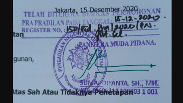 Tim Kuasa Hukum Habib Rizieq Gugat Polda Metro Jaya dalam Praperadilan