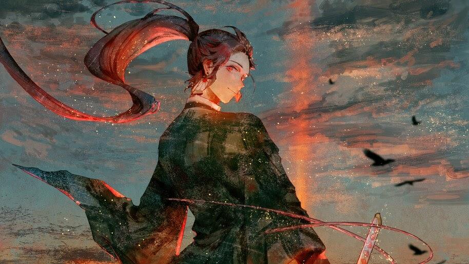 Tanjiro, Kimetsu no Yaiba, 4K, #3.1430