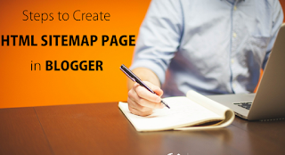add html sitemap page to blogger blog google sitemap blogger