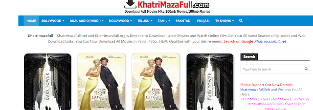 khatrimazafull org link .com .net ~ Download Bollywood Hollywood movie in hindi (Full 300mb movies, 100mb movies) Illigal Website