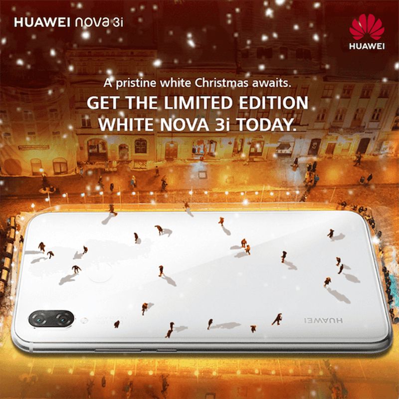 Huawei Nova 3i limited edition pearl white variant arrives in the Philippines!