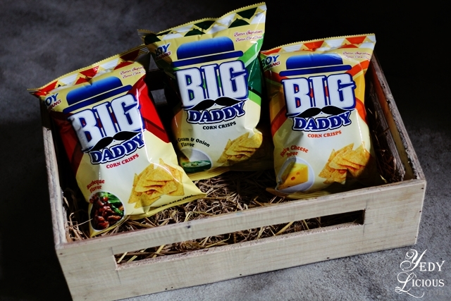 Big Daddy Corn Crisps, Boy Bawang New Products, Boy Bawang Best Local Snacks in the Philippines, Boy Bawang KSK Food Products Blog Review YedyLicious Manila Food Blog Yedy Calaguas