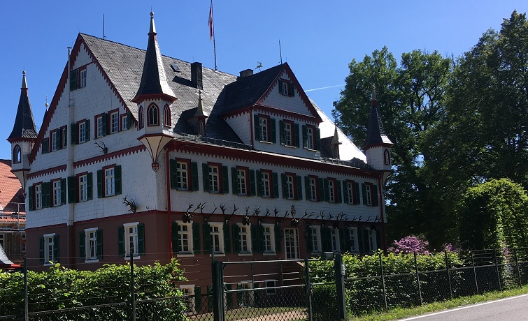 Jagdschloss Eulbach bei Michelstadt