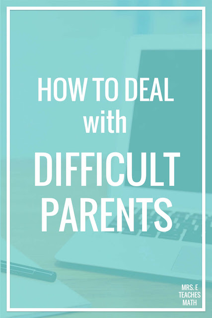 Teachers, are you dealing with difficult parents in your schools? Even with perfect classroom management and planning, you will encounter a students with parents that take issue with your teaching. These ideas and tips for dealing with difficult parents will help you enjoy your kids and have a great school year!