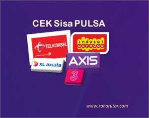 Cara Cek Pulsa Simpati Telkomsel Dan Indosat Im3