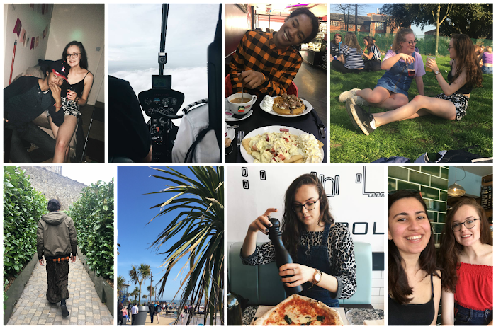 A lifestyle roundup of my week at university featuring all I've bought, watched, eaten, seen and been up to. Featuring a helicopter ride, a visit from my American pal and a heart shaped pizza