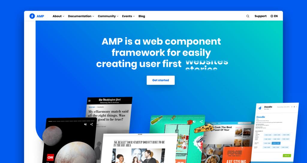 Website Resmi AMP HTML Ganti Domain dan Tampilan