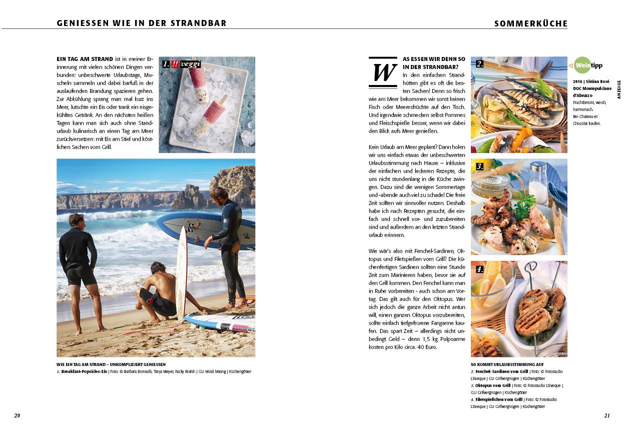 SOMMERKÜCHE | Die neue Ausgabe ist online! | Dorits CHATEAU et ...