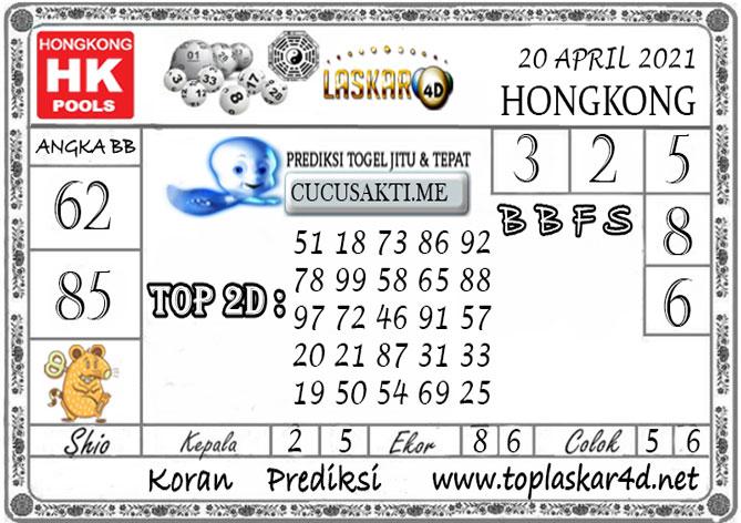 Prediksi Togel HONGKONG LASKAR4D 20 APRIL 2021