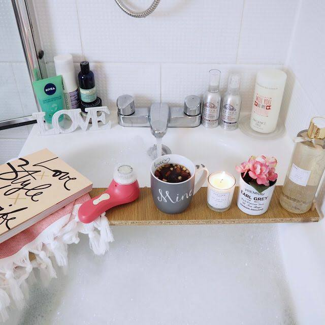 A home spa - Perfect for Mum! Image: Don't Cramp My Style