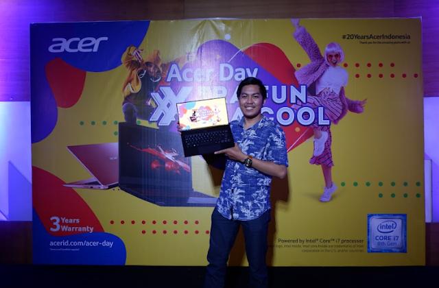 Acer Day 2019 Hadir Di Kota Pontianak