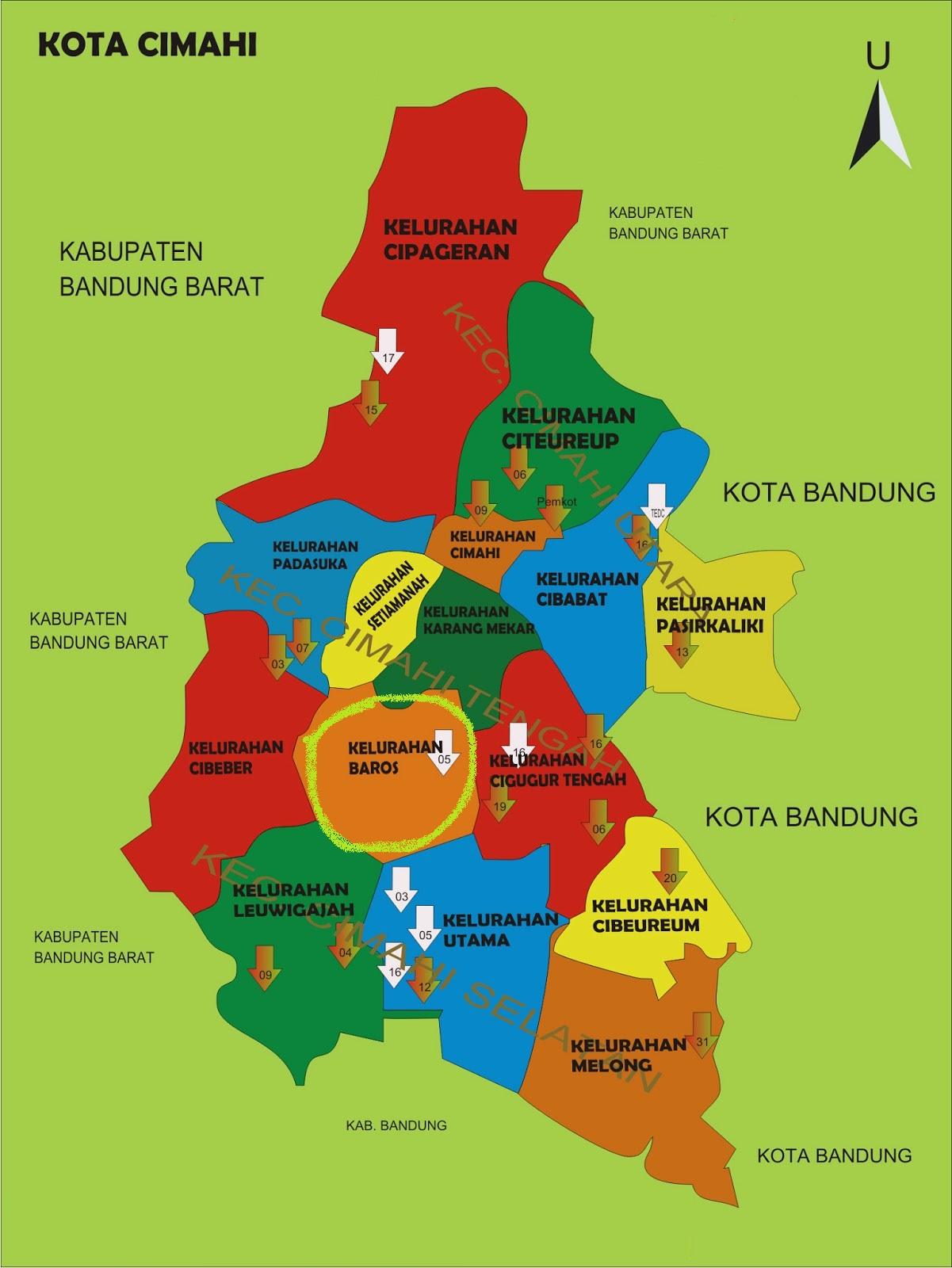 Geografi ~ Profil Kota Cimahi