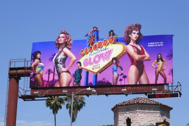 GLOW season 3 billboard